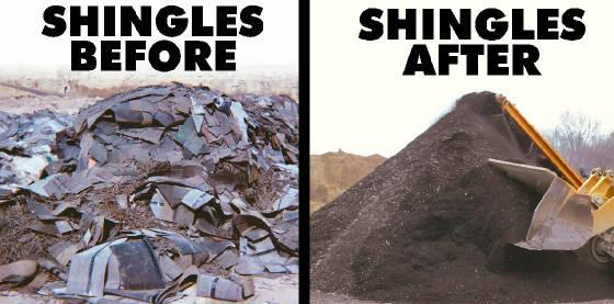 Shingle Recycling News And Events For Bone Dry Roofing