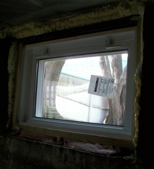 Basement Replacement Windows