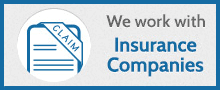 We work with insurance companies