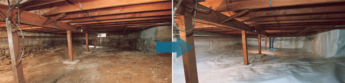 Crawl Space Repair in Staten Island