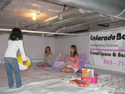 CrawlSpace Encapsulation Shows How to Save Money and Keep Home Healthy in Colorado area....
