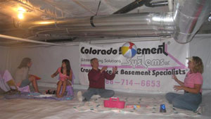 Encapsulated Crawl Space In Colorado U201c